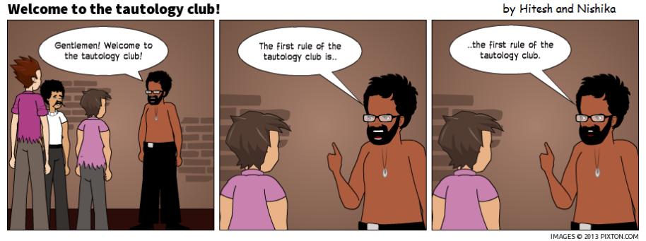 TautologyClub!