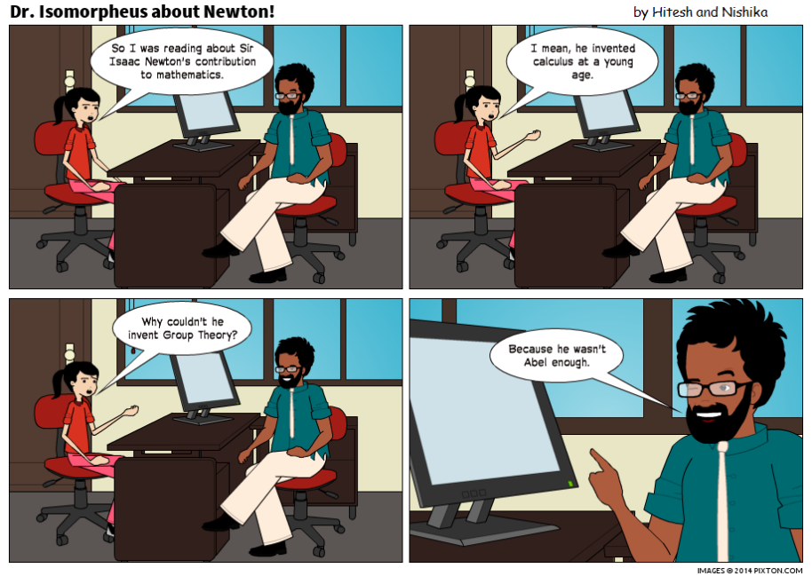Pixton_Comic_Dr_Isomorpheus_about_Newton_by_Hitesh_Gakhar