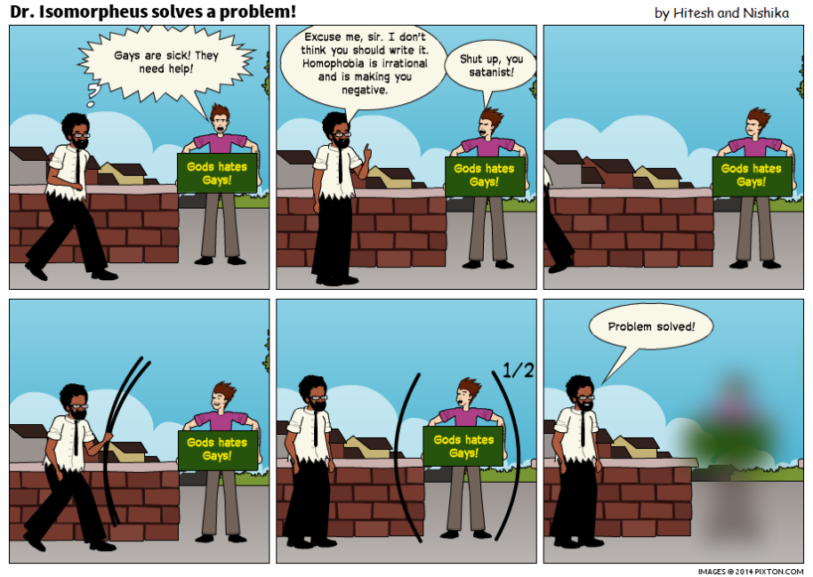 Pixton_Comic_Dr_Isomorpheus_solves_a_problem_by_Hitesh_Gakhar
