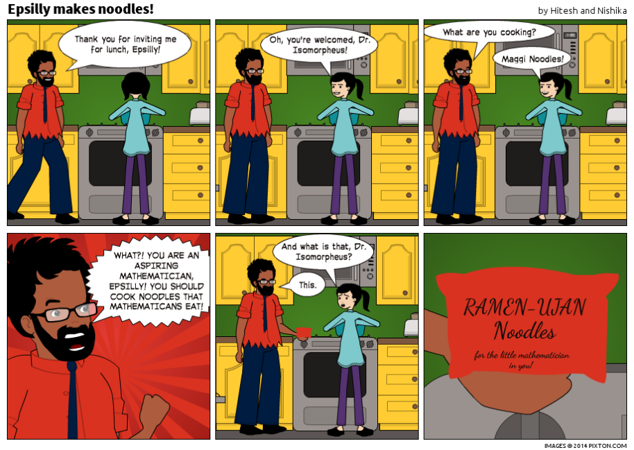 Pixton_Comic_Epsilly_makes_noodles_by_Hitesh_and_Nishika