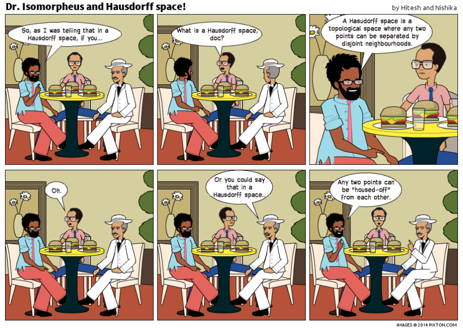 Pixton_Comic_Dr_Isomorpheus_and_Hausdorff_space_by_Hitesh_and_Nishika