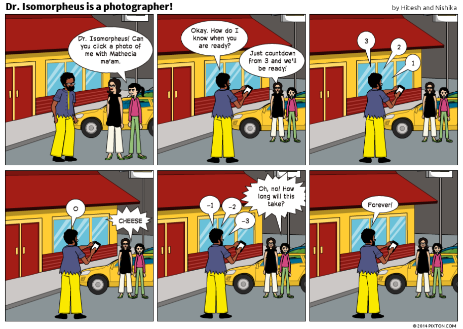 Pixton_Comic_Dr_Isomorpheus_is_a_photographer_by_Hitesh_and_Nishika