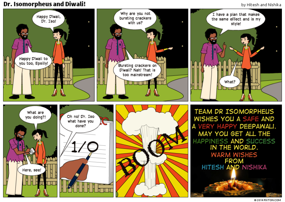 Pixton_Comic_Dr_Isomorpheus_and_Diwali_by_Hitesh_and_Nishika