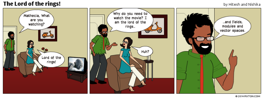Pixton_Comic_The_Lord_of_the_rings_by_Hitesh_and_Nishika