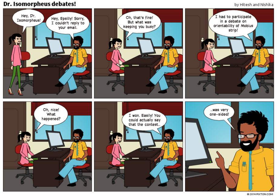 Pixton_Comic_Dr_Isomorpheus_debates_by_Hitesh_and_Nishika (1)