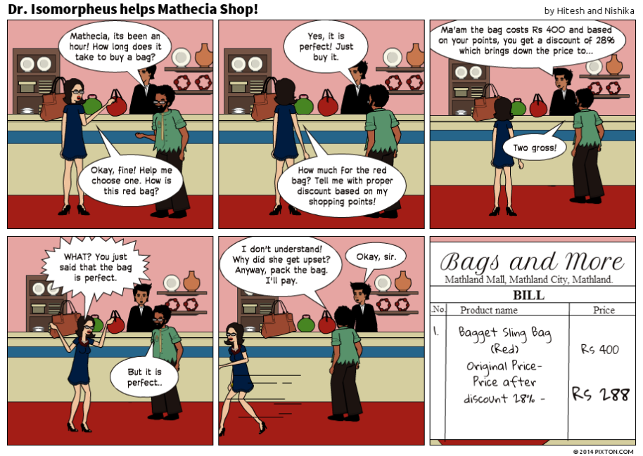 Pixton_Comic_Dr_Isomorpheus_helps_Mathecia_Shop_by_Hitesh_and_Nishika